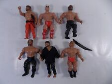 REMCO AWA WRESTLING 6 ACTION FIGURE LOT 1982 WWF WWE WCW