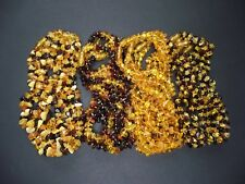 Lot-60 Natural Baltic Amber Baby Necklace Mixed Color 32-33cm