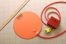 "Dia 10"" Circular Silicone Heater Kettle Vacuum Chamber Pad w/ Digital Controller"