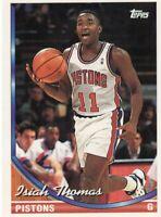 1994 TOPPS BASKETBALL CARD # 311 - HOF ISIAH THOMAS - DETROIT PISTONS