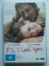 P.S. I LOVE YOU DVD - VGC - Hilary Swank, Gerard Butler