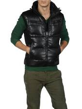 DIESEL WERIS BLACK WINTER VEST SIZE M 100% AUTHENTIC