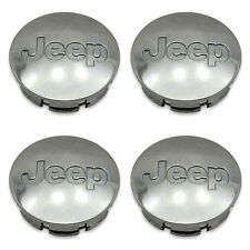 Set of 4 05-10 Jeep Liberty Grand Cherokee 52090401 Wheel Center Caps Hubcaps