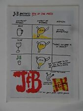 "2000 Print Ad J & B Scotch Whiskey ~ You Do the Math ""Bladdie"" the Bladder ART"