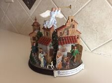 New ListingDanbury Mint Nativity Votive Candle Holder Celebrating Birth of Our Saviour