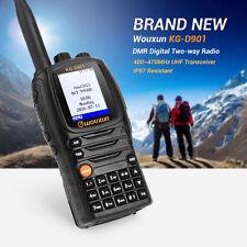 Wouxun KG-D901 DMR Digital Two Way Ham Radio 2 Zones UHF 400~470MHz Transceiver
