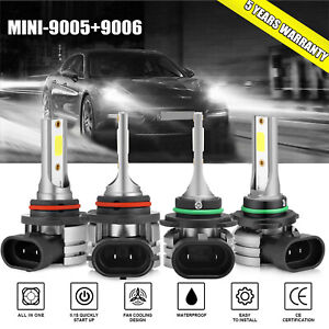 H7 LED Car Headlight Mini 6000K Bulbs White 1020W 102000lm High Power VS Halogen