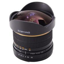 Samyang 8mm F3.5 Fisheye CS Multi Coated Lens Olympus Four Thirds