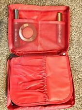 Makeup Bag Cosmetic Travel Cosmetic bag Wash organizer 2 colours option red pink