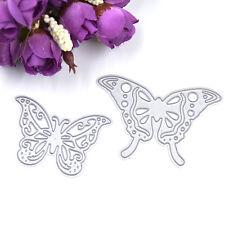 DIY Basteln Papier Schneiden Stanzschablone Karte Scrapbook Prägen Schmetterling