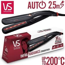 VIDAL SASSOON® Infra Radiance Hair Straightener Extra Wide Styler - RED