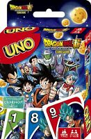UNO Super Dragon Ball Character Playing Cards Trump Games F/S