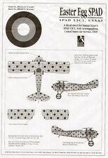 Blue Rider 1/48 SPAD 13C 94th aerosquadron 1919 Samuel Kayes 'PASQUA UOVO' #508