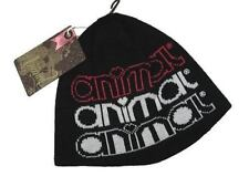 BNWT - ANIMAL  LADIES BEANIE HAT - BLACK