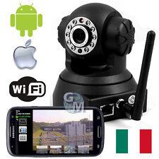 IP CAMERA IPCAMERA WIFI MOTORIZZATA ANDROID IPHONE LED IR TELECAMERA DI RETE a