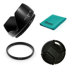 72mm LENS HOOD, MCUV UV Filter,CAP for Nikon 18-200mm,Canon 28-135mm camera NEW