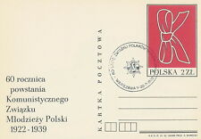 Poland postmark WARSZAWA - RODLO