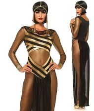 Adult Goddess Isis Costume Egyptian Cleopatra Fancy Dress Leg Avenue Medium UK 10-12