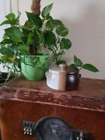 McCoy Canyon Mesa 1421 Crock Stoneware Chili Bean Pot w/ Lid Casserole Dish USA