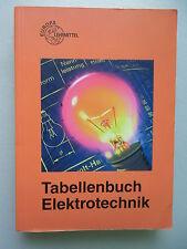 Tabellenbuch Elektrotechnik 2007 Europa Lehrmittel