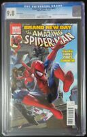 Amazing Spider-Man #647 Marvel Comics CGC 9.8 White Pages Variant Cover