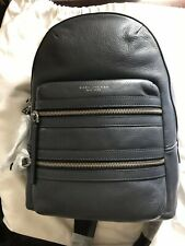 Marc Jacobs - Women's Leather SMALL Biker Backpack GRAY (NWT) Brand New 2017