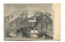 Agassiz, British Columbia - Hotel Bella Vista & Mt Cheam - early Canada postcard