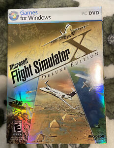 Microsoft Flight Simulator X: Deluxe Edition PC Amazing condition