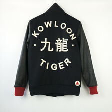 Brand New Leather and Wool Kowloon Tiger bomber Jacket