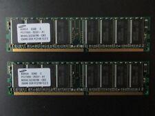 2x256 MB DDR-RAM PC-2700U non-ECC 'Samsung M368L3223DTM-CB3