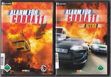 Allarme per Cobra 11 vol. 3 + Allarme per Cobra 11 NITRO raccolta giochi pc