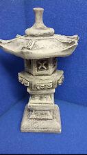Japanische Lampe Yukimi Steinlaterne Pagode Rankai 11 kg schwer, ca. 45 cm Hoch