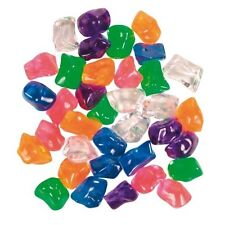 Piedras de Cristal Multicolor Decoración Acuario, Ornamentos Peceras y Figuras