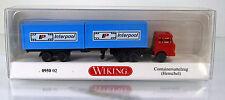 "Wiking 095002 Henschel Containersattezug "" Interpool "" Scale 1/160  N"