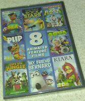 8 Feature films DVD legend of the sea rockstars the race begins + more kids New