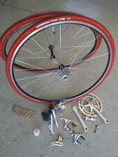 Vintage Campagnolo Chorus 9 Speed Groupset With Wheels Excellent Condition