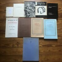 Lot of 10 Cid Corman Olson Poetry Corman Bukowski Kerouac Black Sparrow Press