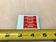 Broncco engine  decal mini bike minibike decal sticker wards gilson