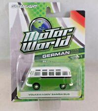 Greenlight Motor World German Volkswagen Samba Bus Green Series 11 NIP 2014