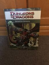 Dungeons & Dragons - Monster Manual - 4th Edition - Hardcover