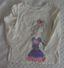 The Children's Place 4T Girls Heart shirt  EUC TCP