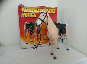 Marx Thunderbolt horse & accessories in original box