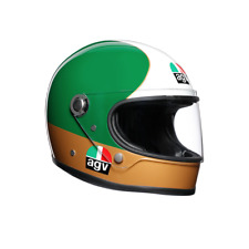 AGV X3000 RETRO FULL FACE MOTORCYCLE HELMET LIMITED EDIT AGOSTINI SIZE MS ML L