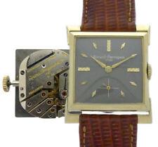 GIRARD-PERREGAUX 14 K.GOLD DESIGNER-HERREN-ARMBANDUHR 1940erJ. KALIBER 91 AE 226