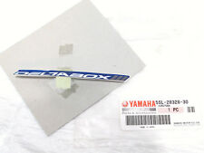 2003-2007 Yamaha YZFR6 R6 Cowling DeltaBox Blue White Decal 5SL-28328-30 NOS