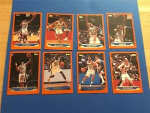 1999/00 Topps New Jersey Nets Team Set 8 Cards