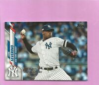 2020 Topps 582 Montgomery Club Foil Stamp #669 Luis Severino New York Yankees