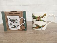 Lesser & Pavey Leonardo Collection Classic Planes Fine China Mug Boxed Father