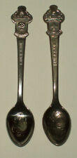 Lot of Two Vintage Rolex Souvenir Spoons Lucerne & Bucherer of Switzerland