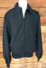 DSCP Wings Collection~44 XL~Vest Liner Zip Jacket Navy Blue Lightweight